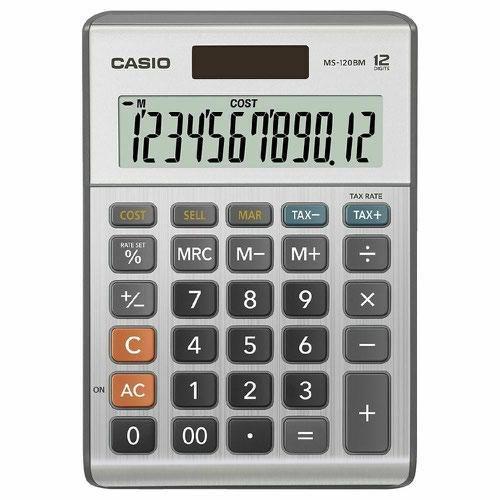 Casio MS-120BM Desk Calculator