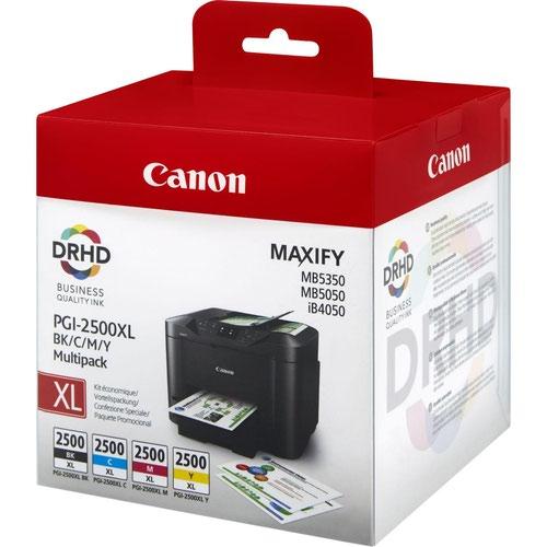Canon PGI-2500XL Ink Cartridge Multipack
