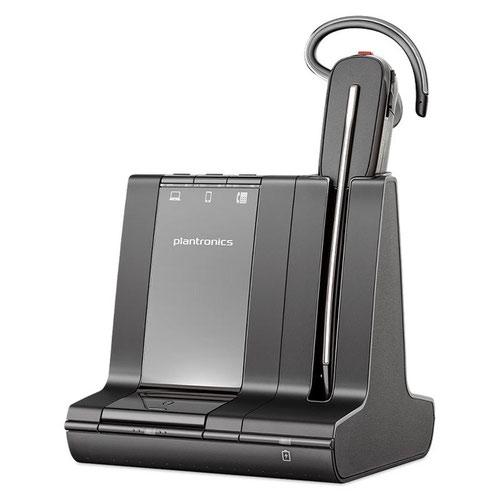 Poly Savi 8240 Office Convertible Microsoft Cert Mono Headset