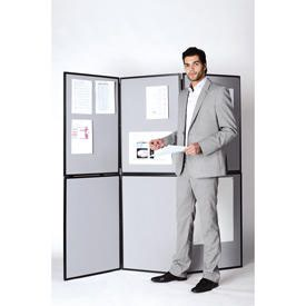 Bi-Office 7 Panel Showboard Exhibition System 900x600x110mm
