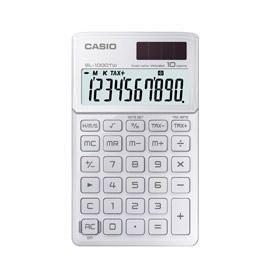 Casio SL-1000TW Handheld Calculator White