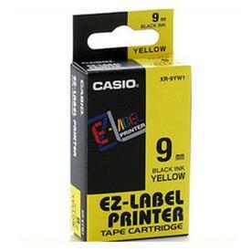 Casio XR-9YW1 Black on Yellow