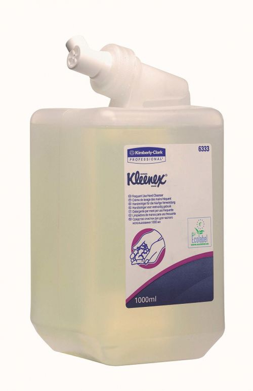 Kleenex Kimcare Everyday General-use Hand Cleanser Dispenser Refill 1000ml Ref 6331