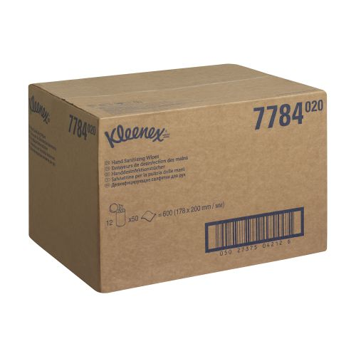 Kleenex Hand and Surface Sanitary Wipes Canister 7784