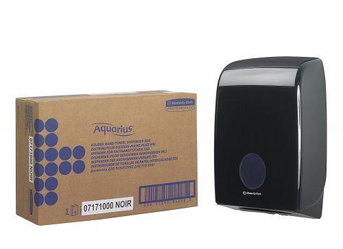 Aquarius Hand Towel Dispenser Black 7171 KC03793