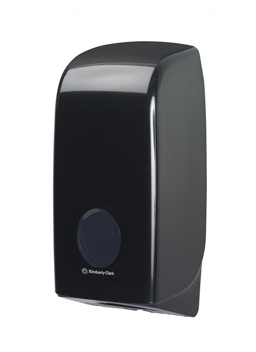 Aquarius Bulk Pack Toilet Tissue Dispenser Black 7172 KC03794