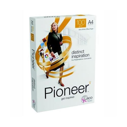 Pioneer Distinct Inspiration Ultra White Office Paper FSC A4 100gsm [Pack 250]