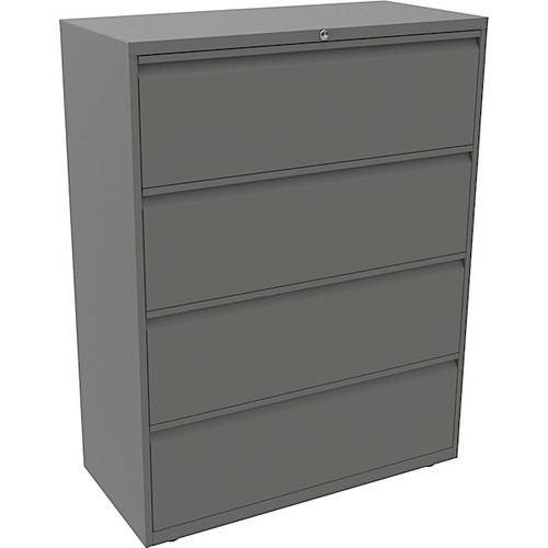Bisley Essentials 4 drawer Filing Unit 1300h x 800w Goose Grey [YESF0813]