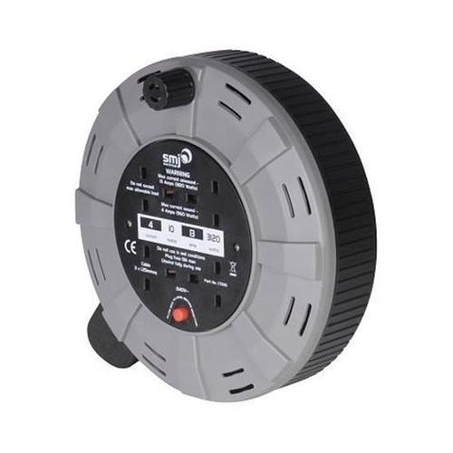 Cable 4 Socket Cassette Reel 10m 13 Amps CT1013
