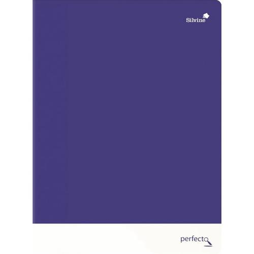 Silvine A4+ Soft Touch Perfecto Notebooks Perforated 75gsm 160pages Assorted PERA4RBBST - SINGLE Book
