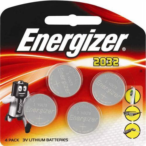 Duracell Lithium Button Cell Battery 3V CR2032 [Pack 4]