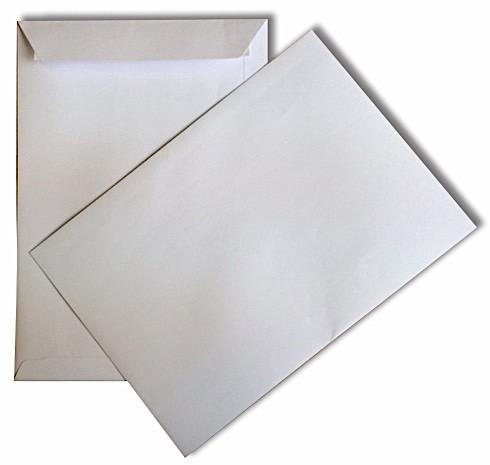 Langstane Envelopes C4 White Plain Pocket 120gsm Peel & Seal [Box 250] 95041