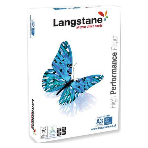 Langstane FSC Office Paper A3 White [Pack 500]