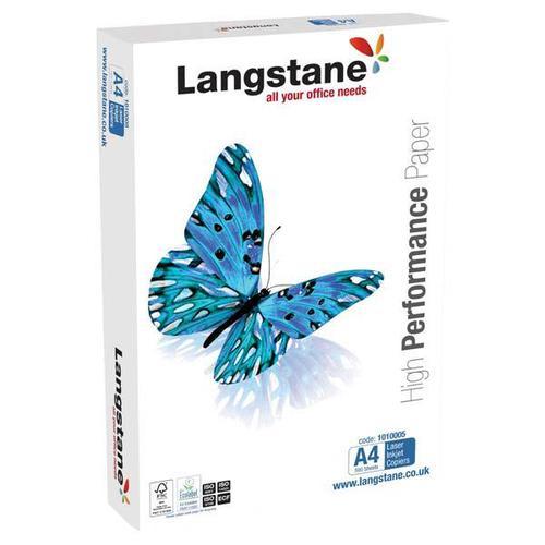 Langstane FSC Office Paper A4 White [Pack 500]