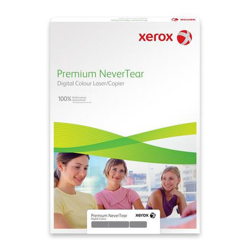 Xerox Premium NeverTear Paper A4 123 micron Vivid Red 003R96983 [Pack 100]