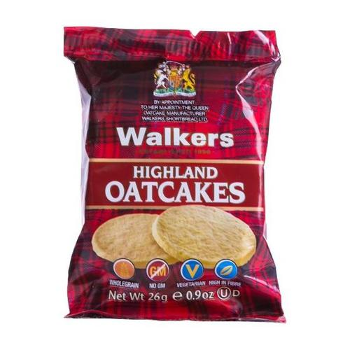 Walkers Highland Oatcakes 205 [40 packs of 3]