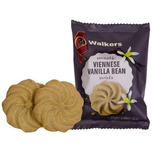 Walkers Viennese Vanilla BEan Swirls 1197 [50 packs of 2]
