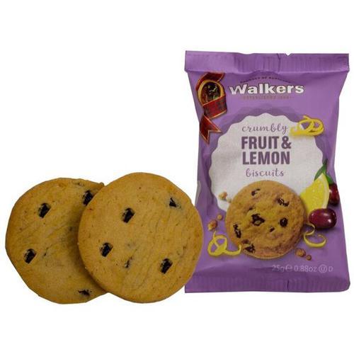 Walkers Fruit & Lemon Biscuits 5007 [50 packs of 2]