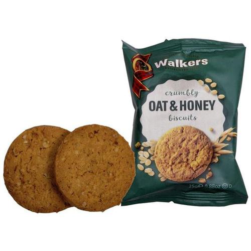 Walkers Oat and Honey BIscuits 5009 [50 Packs of 2]