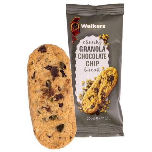 Walkers Chunky Granola Chocolate Chip Biscuits 5020 (Case of 60)