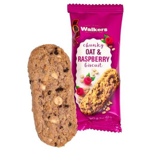 Walkers Chunky Oat and Raspberry Biscuits 5021 (Pack of 60)