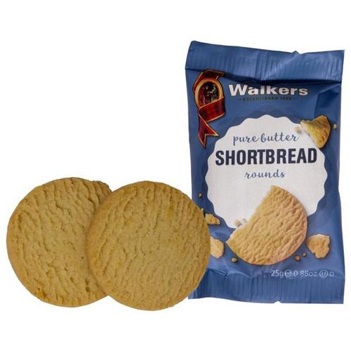 Walkers Shortbread Rounds 5140 [50 packs of 2]