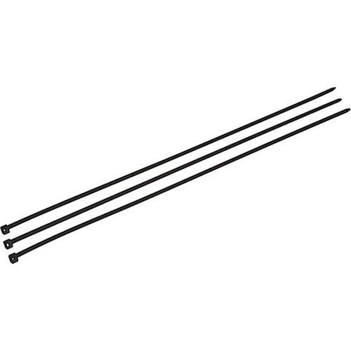 Cable Ties 370 x 4.8mm Black 3738337 [Pack 100]