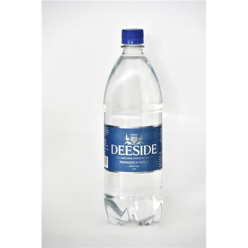 Deeside Natural Mineral Water Plastic Bottle 1 Litre Still [Pack 12]