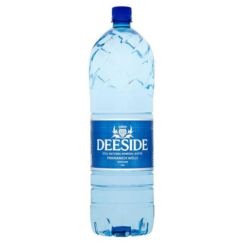 Deeside Natural Mineral Water Plastic Bottle 2 Litre Still [Pack 6]