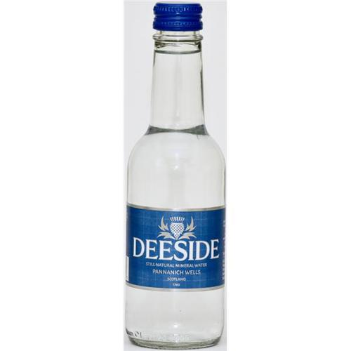 Deeside Natural Mineral Water Glass Bottle 250ml Still [Pack 24]