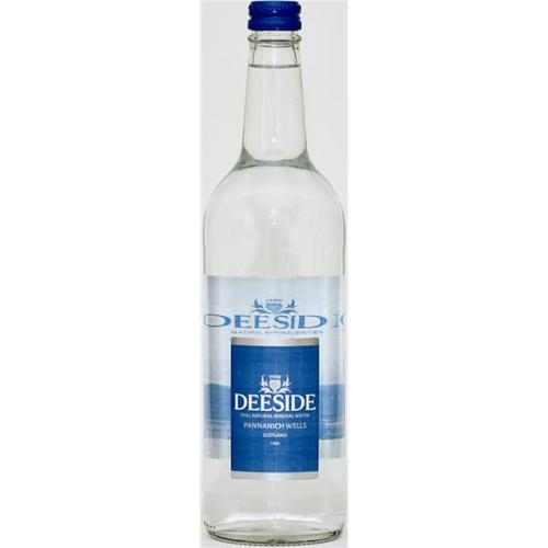 Deeside Natural Mineral Water Glass Bottle 750ml Still [Pack 12]