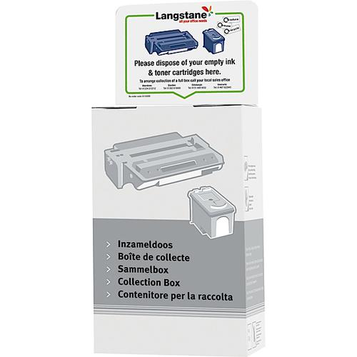 Langstane InkJet / Toner Empty Cartridge Collection Box