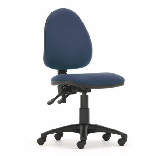 Mercury Medium Back Operators Chair M20 Cobalt Blue Fabric AD004