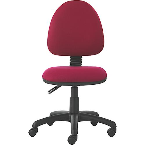 Mercury Medium Back Operators Chair M20 Wine Fabric AD020