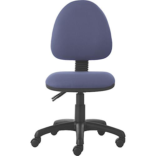 Mercury Medium Back Operators Chair M20 Adriatic Blue Fabric AD001