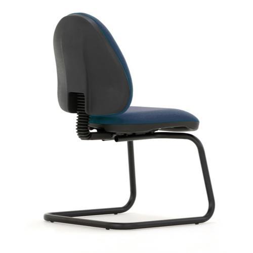 Mercury Medium Back Visitors Chair M20V Cobalt Blue Fabric AD004