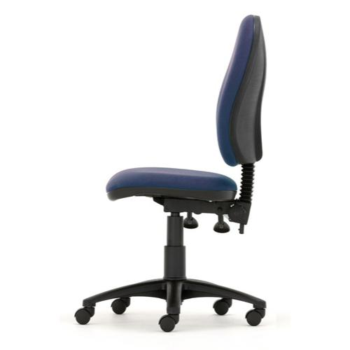 Mercury High Back Operator Chair M60 Cobalt Blue Fabric AD004