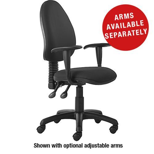 Mercury High Back Operator Chair M60 Charcoal Fabric AD028