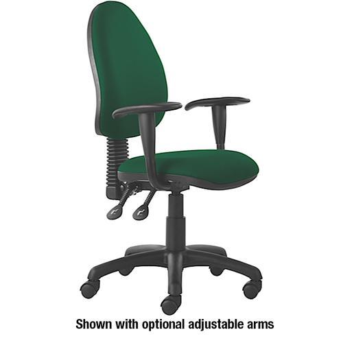 Mercury High Back Operators Chair M60 Aqua Green Fabric AD002