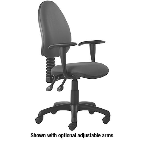 Mercury High Back Operator Chair M60 Mineral Grey Fabric AD010