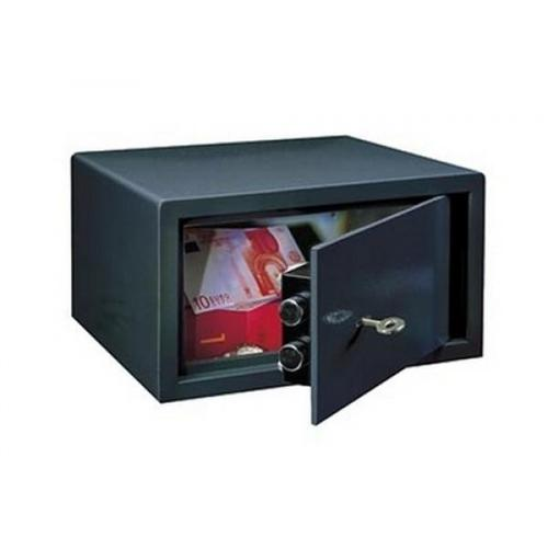 Rottner 11 Litre Key Lock Safe LE-17 Black T03138