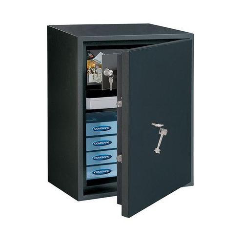Rottner 56 Litre Powersafe 600 IT Key Lock Safe Black T05724