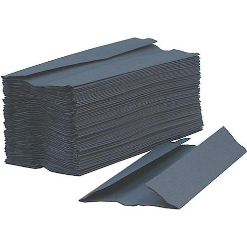 Glensoft C-Fold Hand Towels 1-Ply Blue 15x182 Sheets 230x330mm CAS0670 [Box 2730]