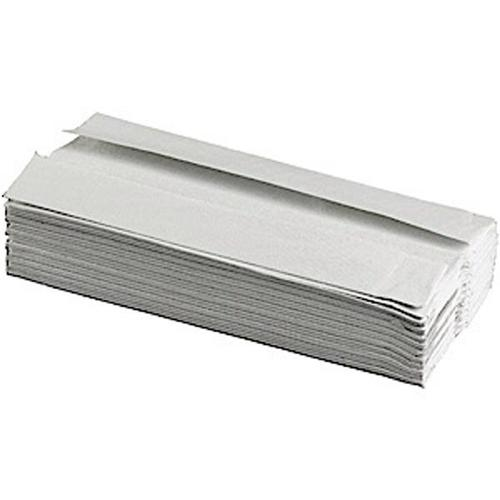 Glensoft C-Fold Hand Towels 1-Ply White 15x182 Sheets 230x330mm CAS0640 [Box 2730]