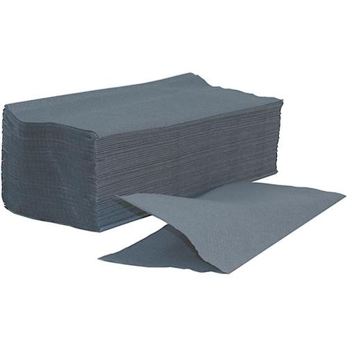 Glensoft Single Fold Hand Towels 1-Ply Blue 15x240 Sheet 245x222mm DIS0220 [Box 3600]