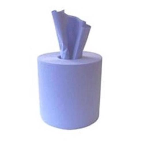 Glensoft Centrefeed Rolls 2-Ply Blue 195mm x 170m Roll CASE147 [Pack 6]