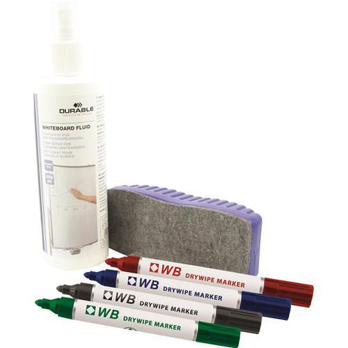 Langstane Dry Wipe Whiteboard Starter Kit