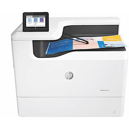 HP PageWide Enterprise 755DN Duplex Network Colour Inkjet Printer 4PZ47A#B19