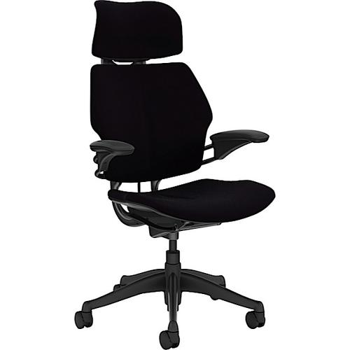 Humanscale Freedom Headrest Chair with H/Adjustable Arms Oxygen Inhale Fabric Ref F211GO001