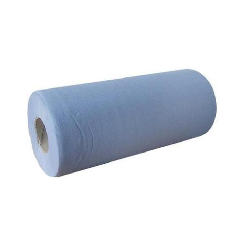 Glensoft Couch Rolls 3-Ply Blue 500mm x 40M CAS0440 [Pack 9]